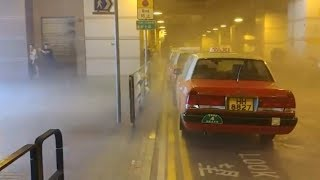 Monster storm Mangkhut battered Hong Kong. World's Strongest Storm 2018