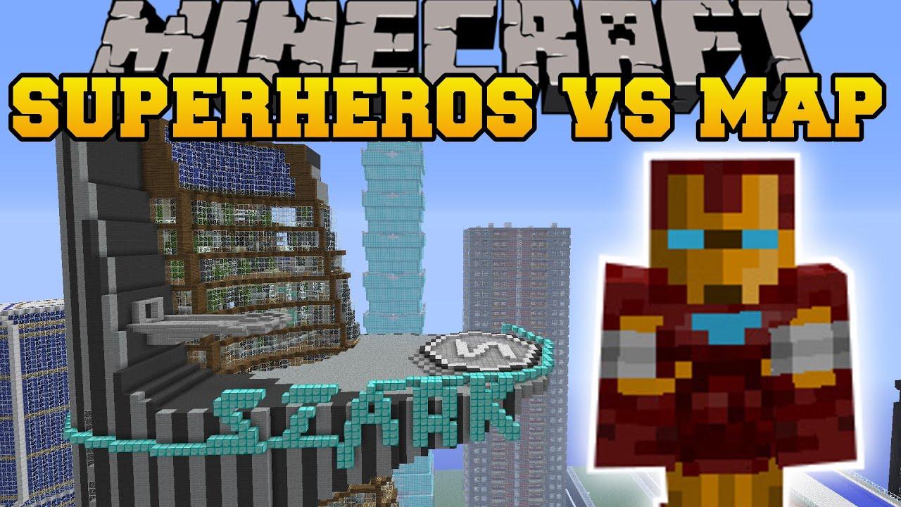 superheroes unlimited mod vs avengers tower - minecraft mods vs maps  repulser  u0026 tnt