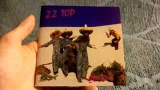 ZZ TOP El Loco (German CD Edition) Unpackaging