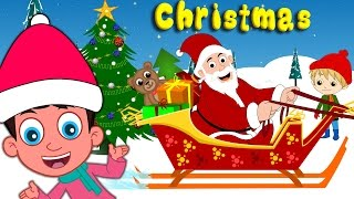 Best Christmas Songs for Children with lyrics | Santa Claus | Jingle Bells plus lot more