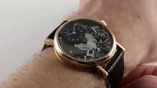 Pre-Owned Breguet Tradition 7027BR/G9/9V6 Luxury Watch Review