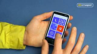Nokia lumia 620 Видеообзор на русском.