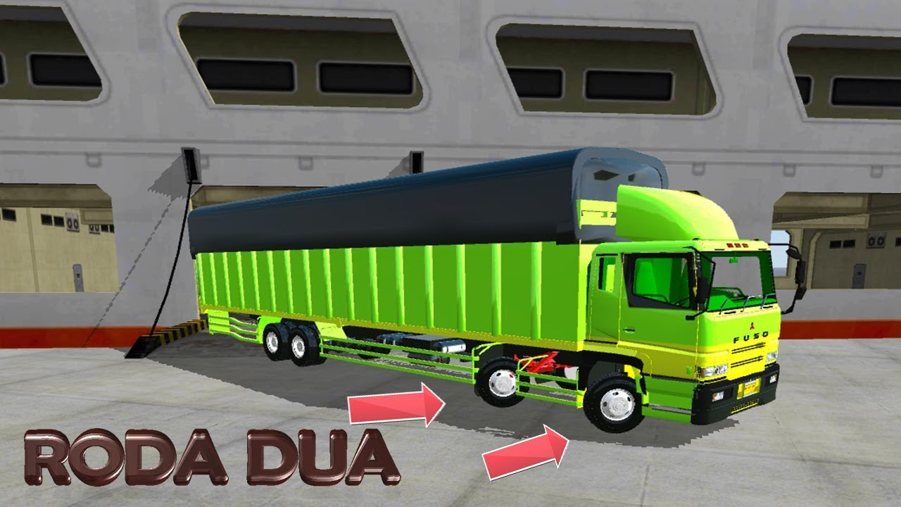 Review Bussid Mod Truck Fuso Long Chassis