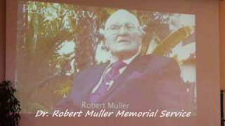 The KAZU TIME Show-Dr. Robert Muller Memorial Service on September 27th, 2010