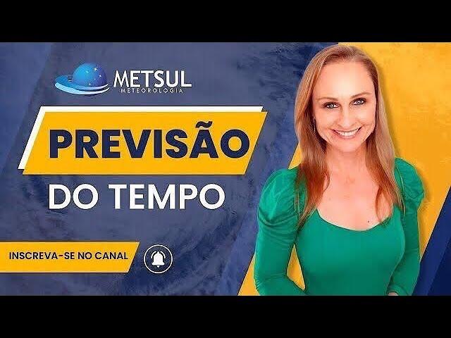 15/04/2021 - Chuva nos três estados do Sul do Brasil   METSUL