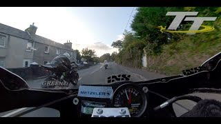 360 Degree On Board | Classic TT 2018 | Horst Saiger | Kawasaki Superbike