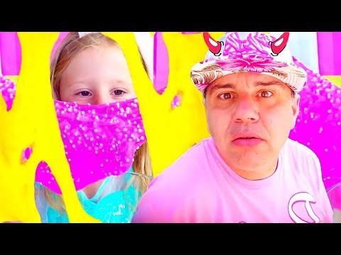 Stacy y pap hacen una limo colorida