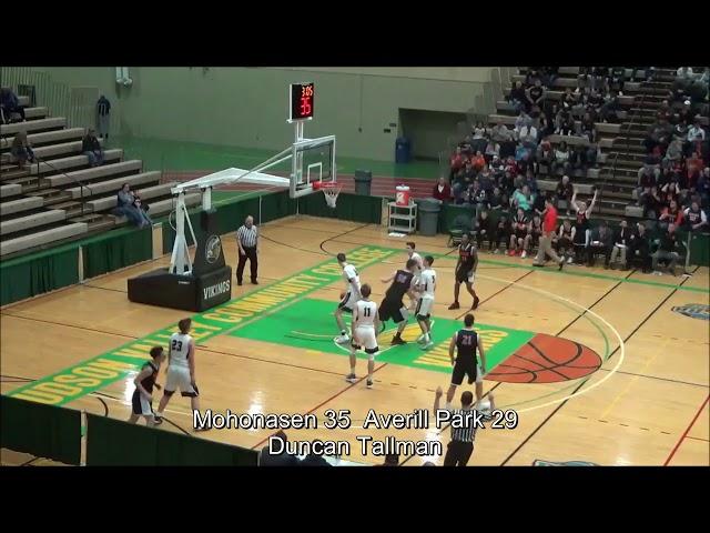 Game Highlights Boys' Varsity: Mohonasen 62 vs Averill Park 57 (F)