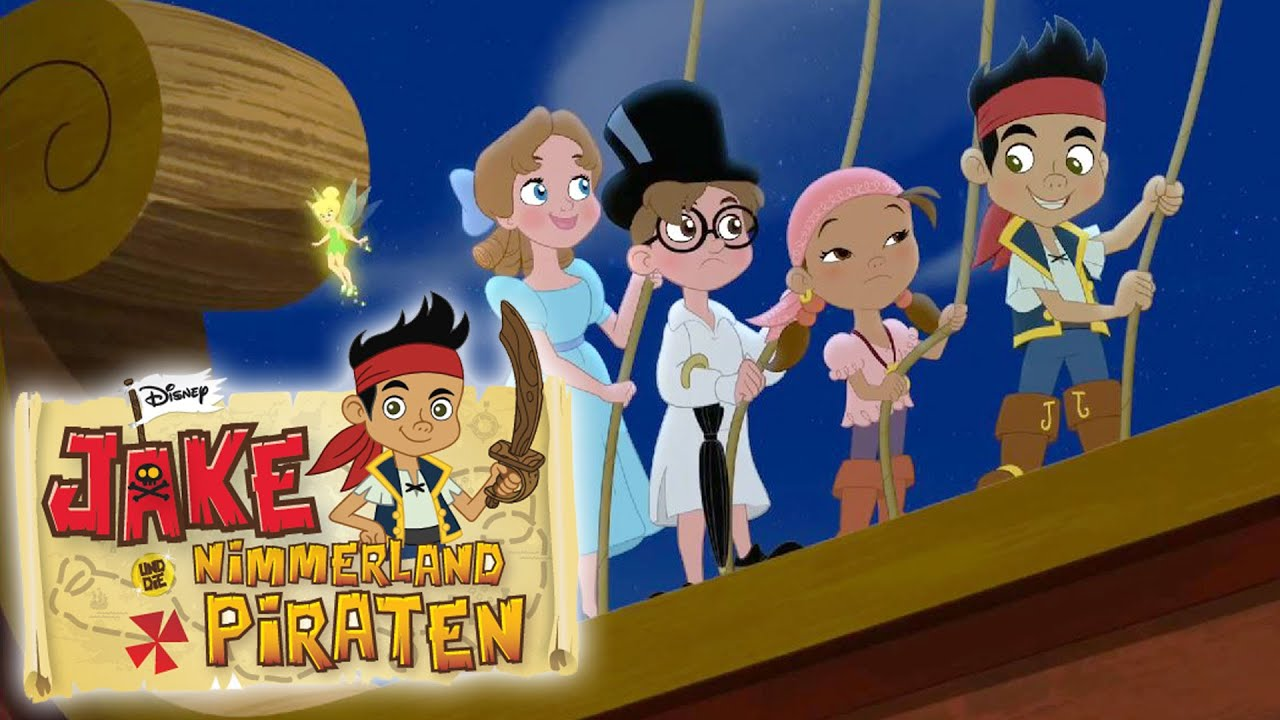jake und die nimmerland piraten  auf der jagd nach dem