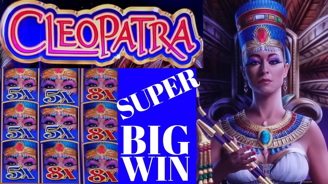 Cleopatra Slot Machine Big Win