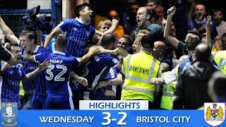 Sheffield Wednesday 3 Bristol City 2 | Extended highlights | 2016/17