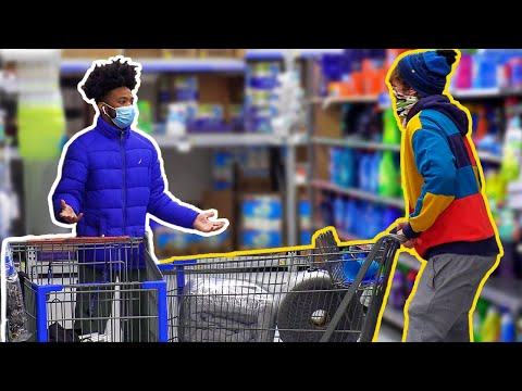 Crashing Carts Prank!