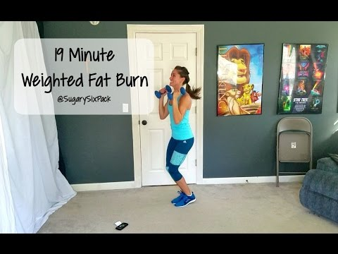19 Minute Weighted Fat Burn