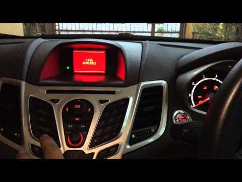 Setting: Auto Power Fold Side Mirror Ford Fiesta
