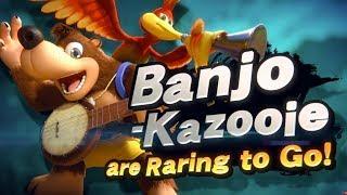 Banjo Kazooie in Smash Bros Ultimate DLC Reveal Trailer Nintendo Direct E3 2019