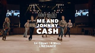 "Rainey Qualley - ""Me and Johnny Cash"" Line Dance"