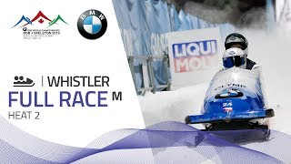 Whistler | BMW IBSF World Championships 2019 - 2-Man Bobsleigh Heat 2 | IBSF Official