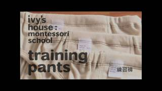 Ivy's House Training Pants (2 years old)