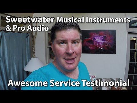 Sweetwater Music Instruments & Pro Audio Testimonial