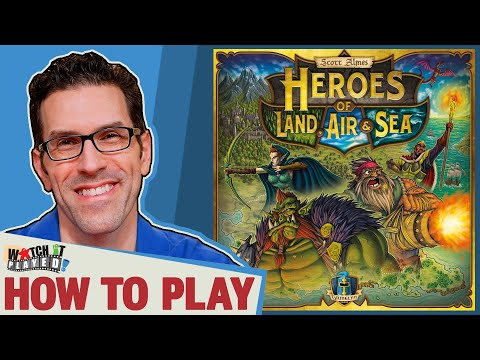 Heroes of Land, Air & Sea - How To Play