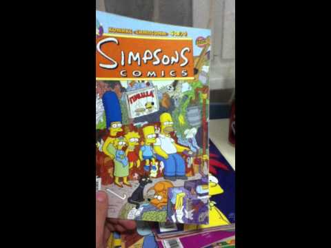 russian simpsons comics collection!