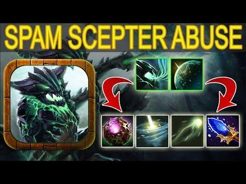 Infinite Mana -Spam Double Flare + Arcane Bolt [Essence Aura+Mana Shield] Ability Draft Dota 2