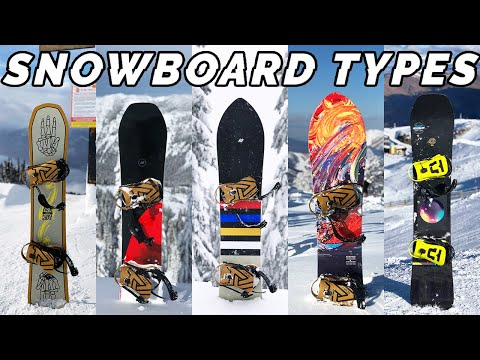 What TYPE Of Snowboard Should You Buy? // Beginners Guide