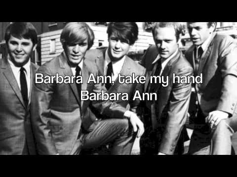 Barbara Ann - The Beach Boys (Piano Instrumental Karaoke) (with lyrics)