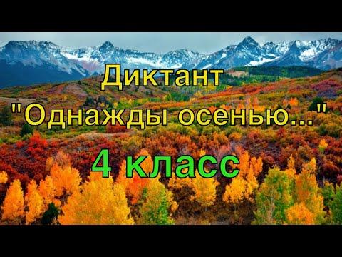 ВПР по русскому языку в 4 классе. Диктант и 2 задания к диктанту. Вариант 1.