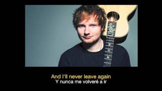 Ed Sheeran - One HD (Sub español - ingles)