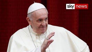 Pope Francis backs same-sex civil unions