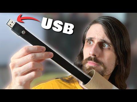 Me envían un juego en un USB de 1 METRO (DEMASIADO LARGO)