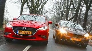 2019 Ford Focus vs 2018 Mazda 3 Hatchback Technical Specifications
