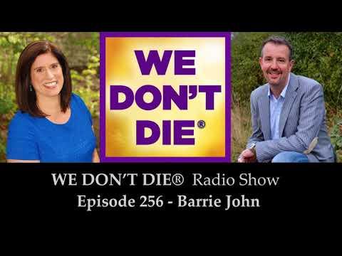 Episode 256 Barrie John - Award-Winning TV Medium, Paranormal Investigator and More