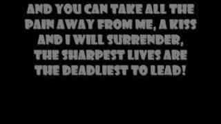 My Chemical romance-the sharpest lives(lyrics)