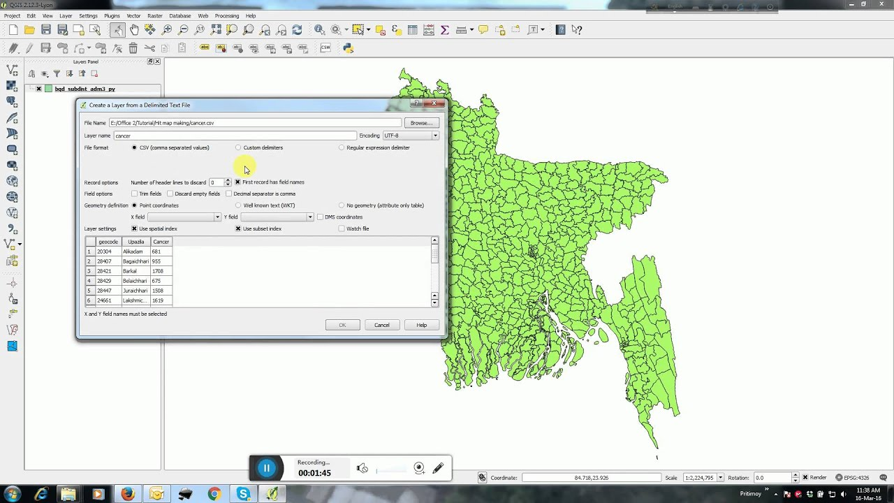QGIS Hit map making or Choropleth map making - YouTube Choropleth Map Maker Online on