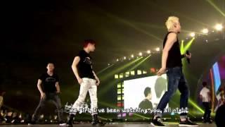 [JUNSU] JYJ - Be My Girl + Empty (2013 Concert in Tokyo Dome) [English karaoke sub]