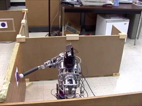 Model-based learning from demonstration with the uBot-5