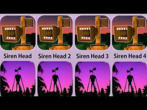 Siren Head,Siren Head 2,Siren Head 3,Siren Head 4,Siren Head 5,Siren Head 6,Siren Head 7