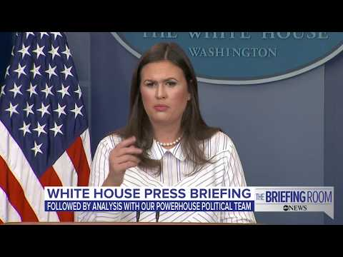 White House press briefing 9.12.17