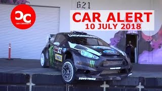 Rally Driver Ken Block Thrashes Around in His Ford Fiesta for Yardkhana