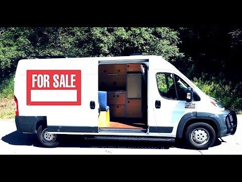 custom-camper-van-for-sale-~-full-bed,-solar,-&-hot-water!!!