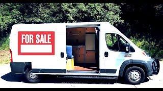 Custom Camper Van For Sale ~ Full Bed, Solar, & Hot Water!!!