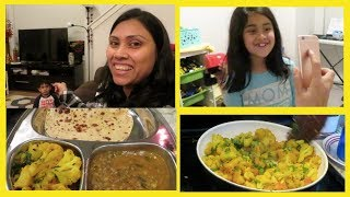 Friday Special Evening to Night Vlog I Dinner Recipe under 30 minutes - Daily Life of Indian Mom