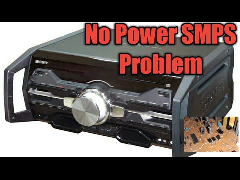 SONY HCD-SH2000 HI-FI COMPONENT SYSTEM,.. No Power (SOLVED)