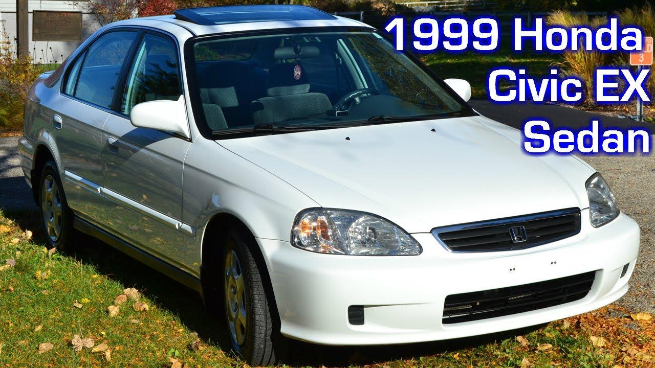 Honda Civic Ex Sedan Jdm Taffeta White Detail Features