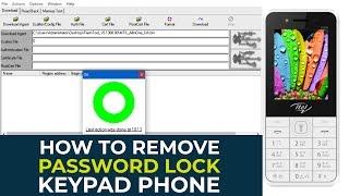 How to remove unlock password on itel 484 Mp4 HD Video WapWon