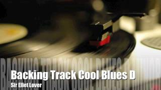 Backing Track Cool Blues D Minor