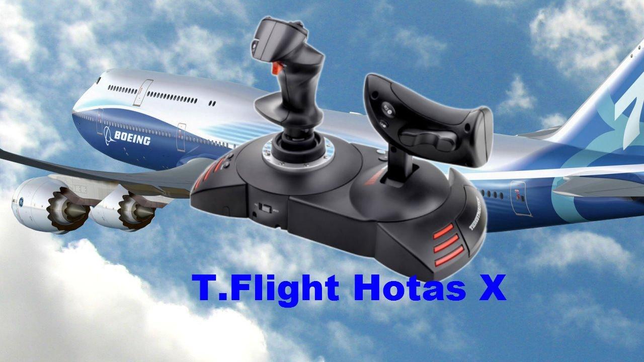 THRUSTMASTER T Flight Hotas X  FSX guide