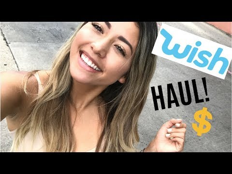 WISH APP Review! (Bathing Suit Haul)